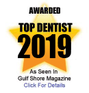 Award for Top Dentist 2016